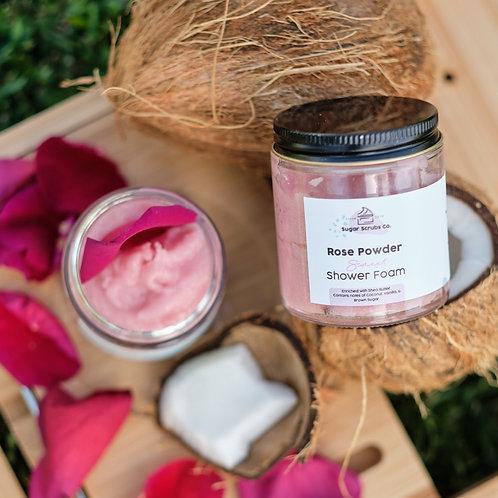 Rose Powder Sweet Shower Foam