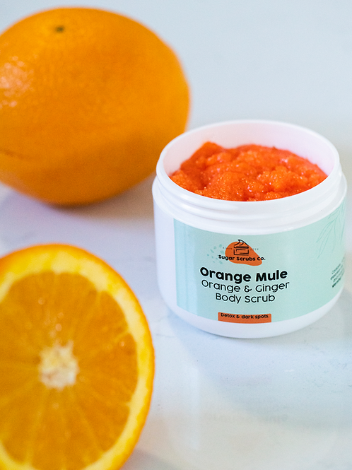 Orange Mule Body Scrub