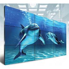 Video Wall LG, muro digital, pantallas enlazadas, monitores en cascada, super sign