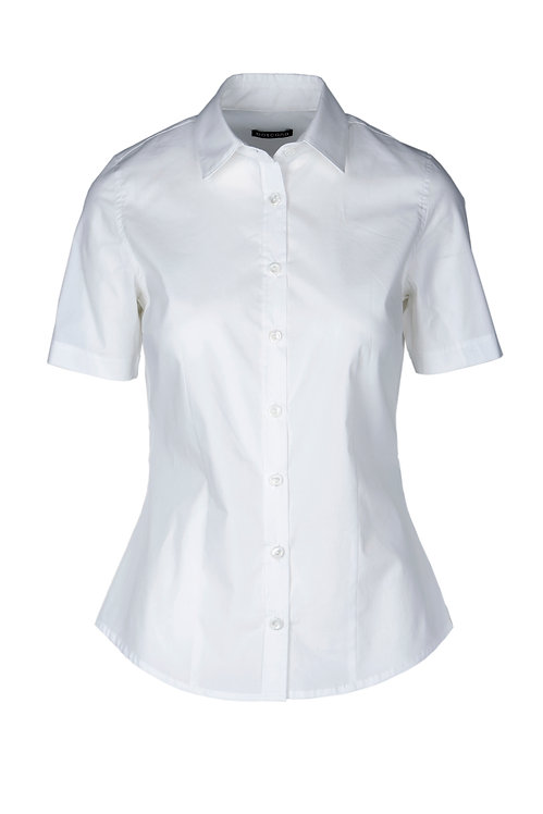 BLUSE NIMMA  IN WEISS