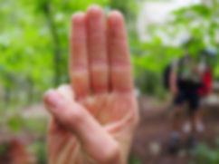 photo du salut scout