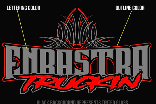 Official Enrastra Truck Club Crew Decal