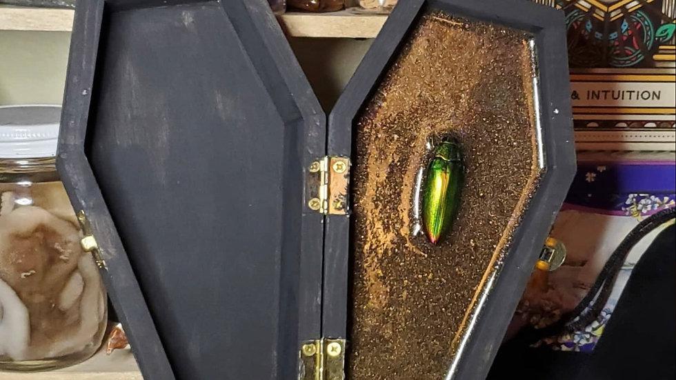 Beetle Resin Trinket Box