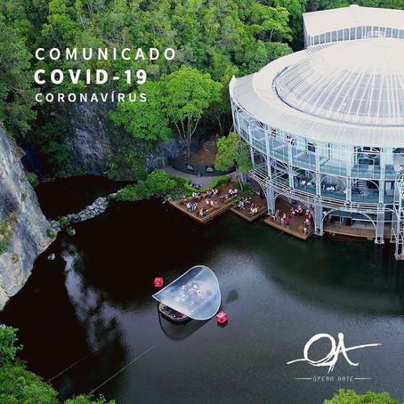 comunicado COVID 19 - Corona vírus-18.03.2020
