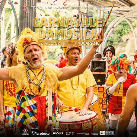 Carnaval no Ópera arte- Venha provar nossas novidades.