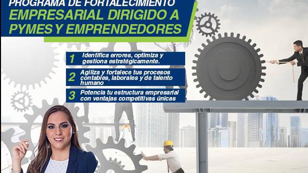 Programa de fortalecimiento empresarial para PYMES/Emprendedores