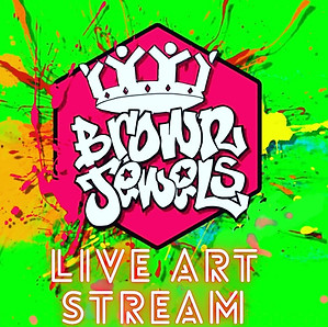 The Ministry of Art presents - Brown Jewels Live Art Stream!