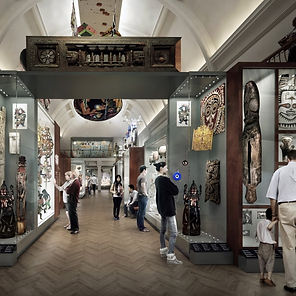 Image of the inside of Horniman Museum