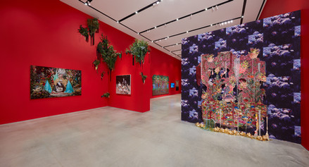 Installation view Radical Love exhibition June 11 - August 17, 2019, Ford Foundation Gallery, NYC. Photo: Tom Powel