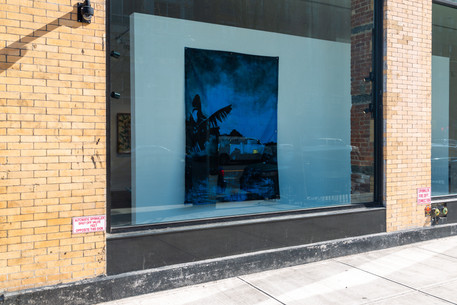 Installation views of artist Lionel Cruet's work in the exhibition A Perfect Storm at Gallery 8, Harlem, New York, 15 February - 8 March, 2020