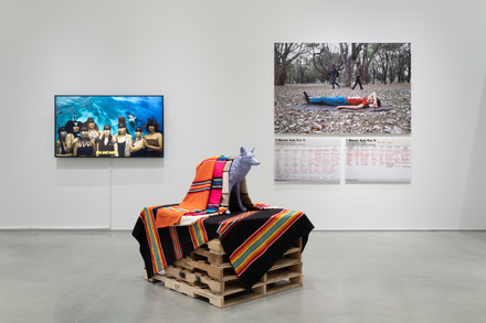 Installation views of the exhibition Perilous Bodies at Ford Foundation Gallery, 5 March - 11 May, 2019.