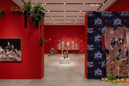 Installation view Radical Love exhibition June 11 - August 17, 2019, Ford Foundation Gallery, NYC. Photo: Sebastian Bach