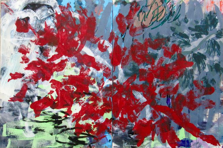 Branche rouge (diptyque)