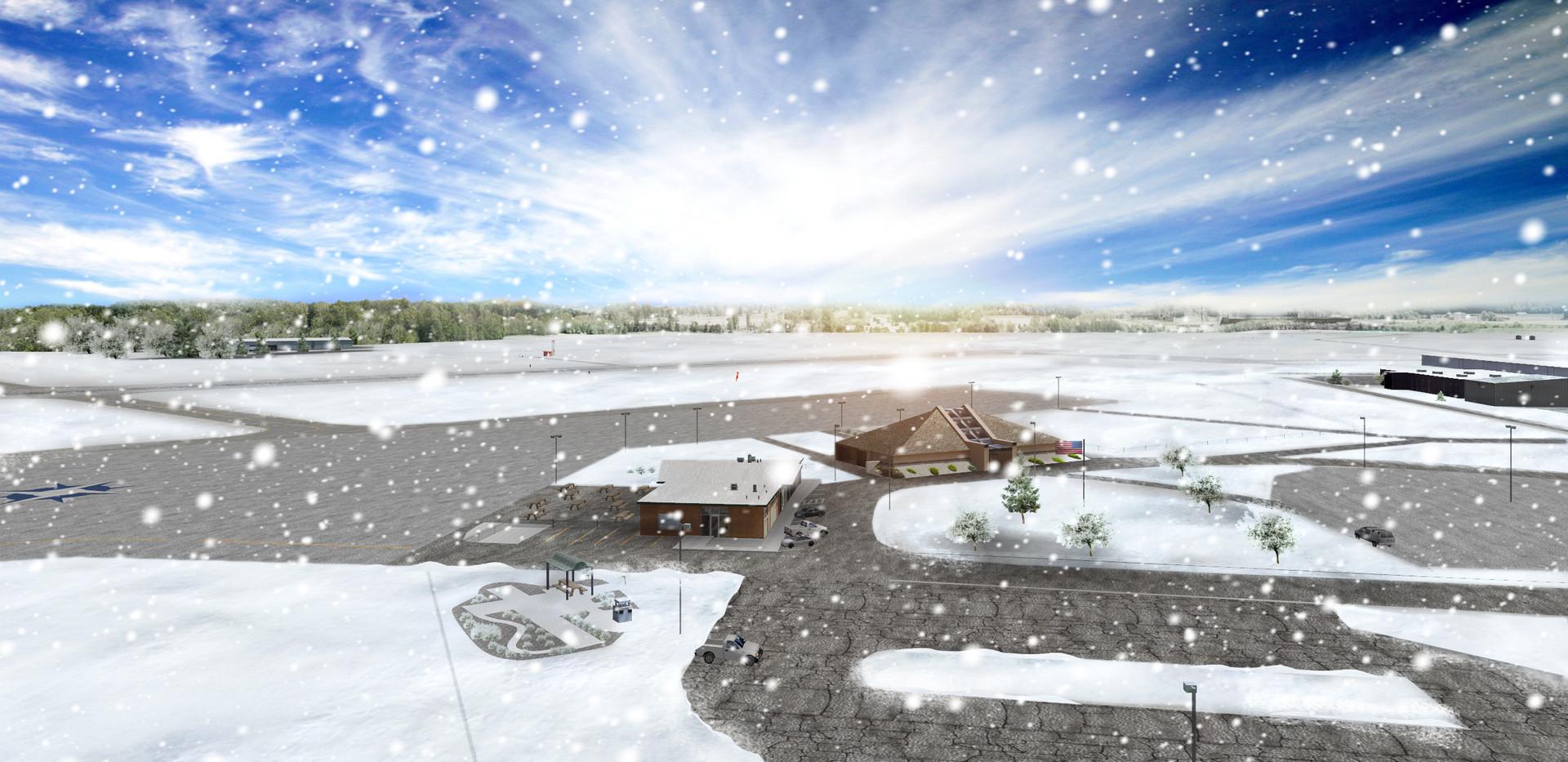 Snow Scene KMFD