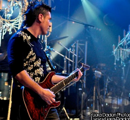 Lionel, guitariste lead et rythmique, choeurs pour le Concept Indie Vision, bio, photos...