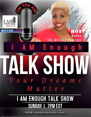 Wanda D I Am Enough Talk Show_with upper