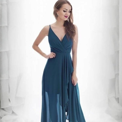 Brittany Gown Petrol