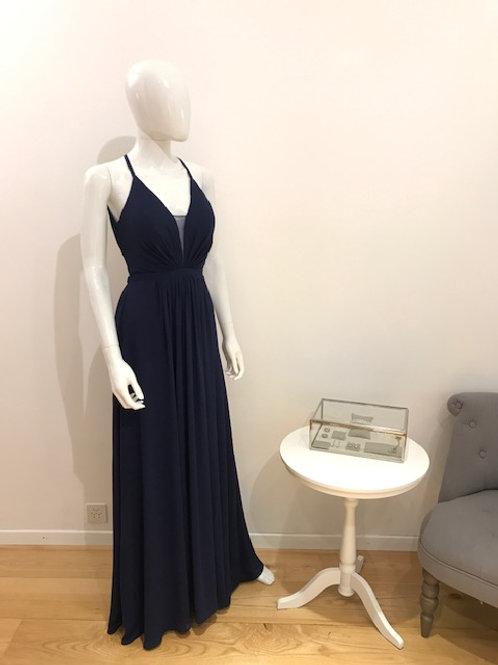Bicane Gown Dunkel Blau