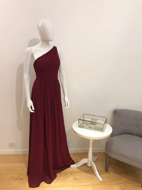 Gin Ballkleid Bordeaux
