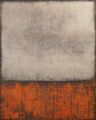 Abstract Orange&Gray