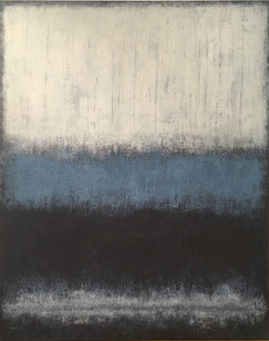 Abstract Blue&White
