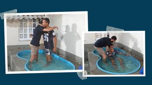 Batismo do William 🎉