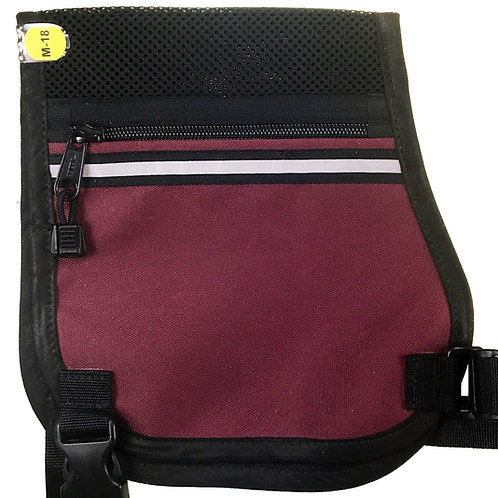 P-Style with Mesh, Burgundy and Black Medium