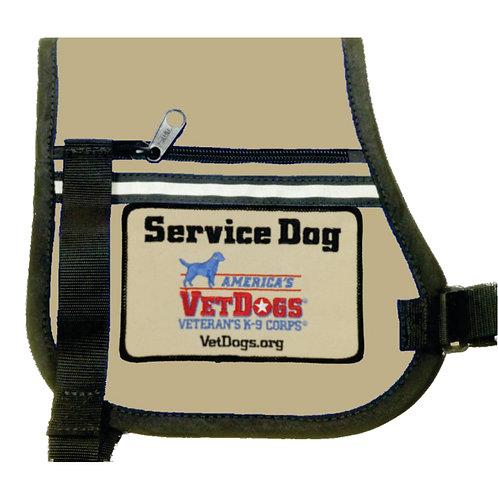 AVD P-Style Velcro Cape (Tan)
