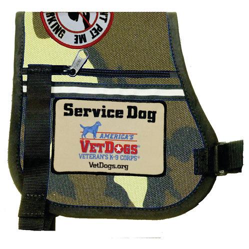 AVD P-Style Velcro Cape (Camo)
