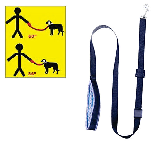 Adjustable Length Soft Leash