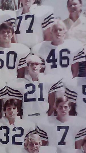 Glenn Norman Sophmore Football Team 1984.PNG