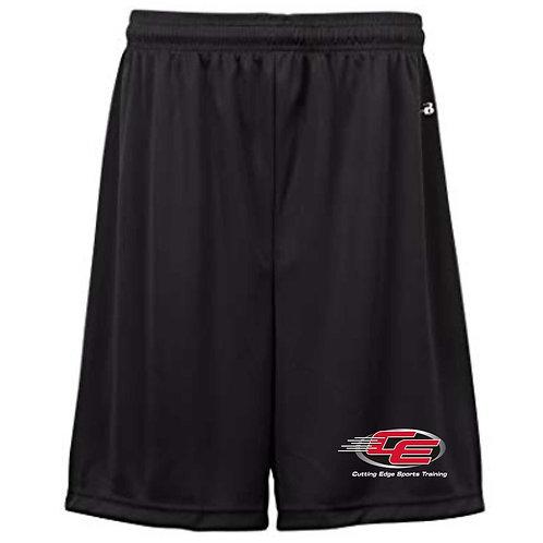 Cutting Edge Black Training Shorts