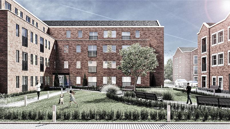 Crescent House - External Courtyard JPEG