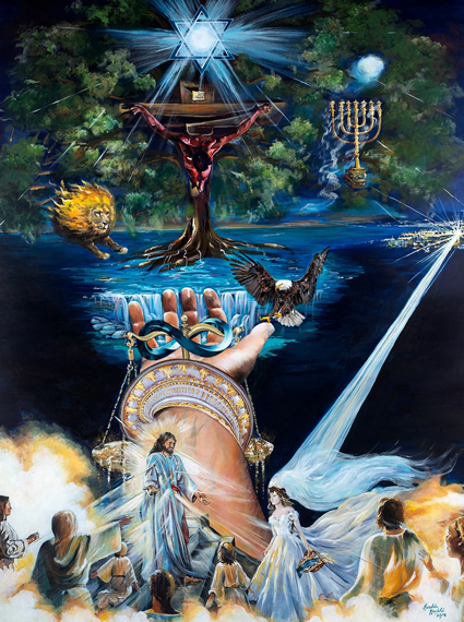 Jesus Christ, Second Coming, Rapture, End Times, Prophetic Paintings