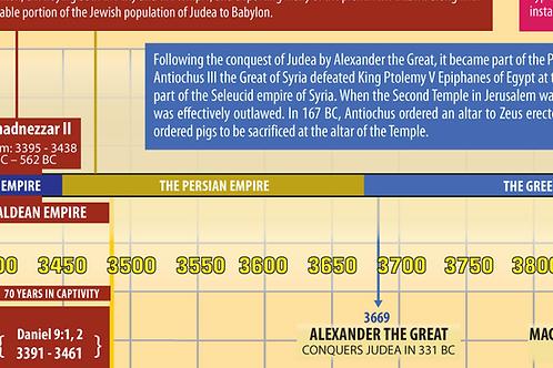 Full Bible Timeline - Digital PDF