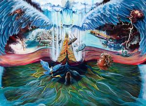 Jesus, Eye, Prophetic Artwork, Prophecy paintings