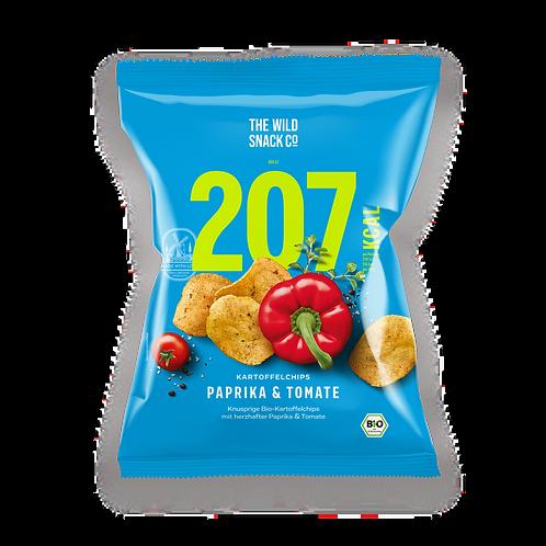 TWSCo. Bio-Kartoffelchips Paprika & Tomate, 40g
