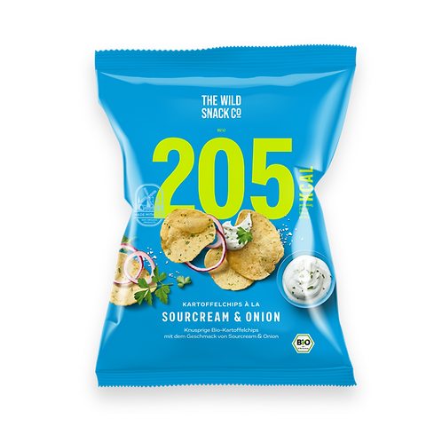 TWSCo. Bio-Kartoffelchips á la Sour Cream & Onion, 40g