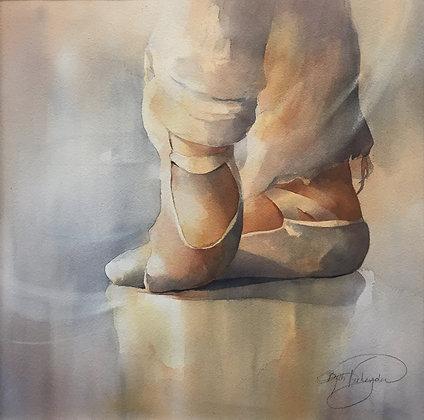 """Original Watercolor by Beth Verheyden - """"Sole Mates"""""""