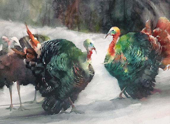 """Original Watercolor by Beth Verheyden - """"Pardoned"""""""