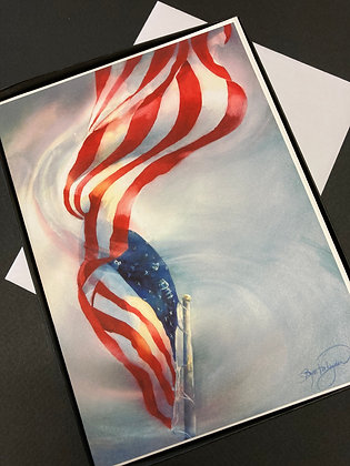 """Box of 10 Cards  - """"Gratefully I Stand"""" by Beth Verheyden"""