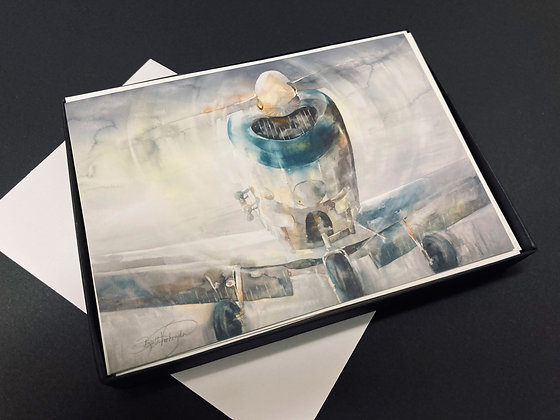 "Box of 10 Cards  - ""1946"" by Beth Verheyden"