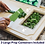 Thumbnail: Modern Bamboo Cutting Board with 3 Food Prep Containers