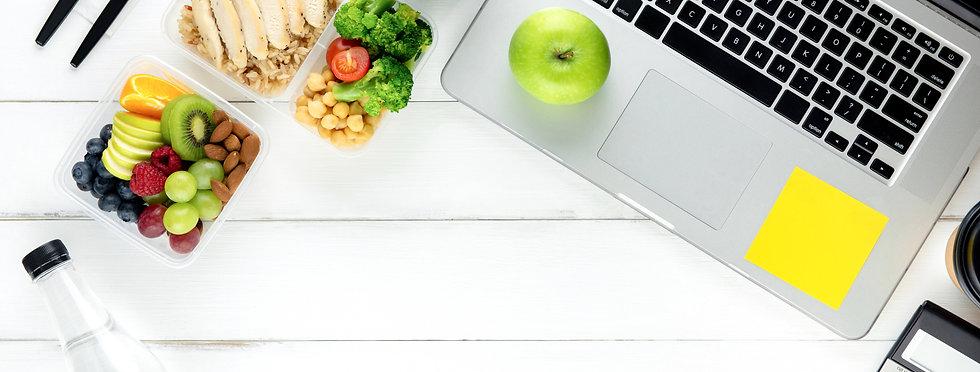 Clean healthy ready ot eat low fat food