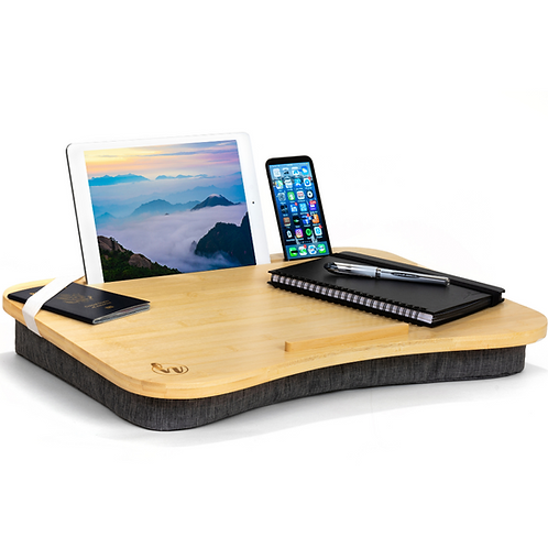 Gray Hultzzzy Modern Home Office Lap Desk