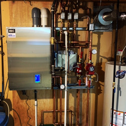 IBC Boiler Install