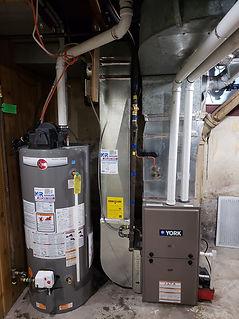Furnace Water Heater Installation