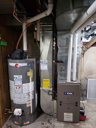 Furnace Water Heater Installation