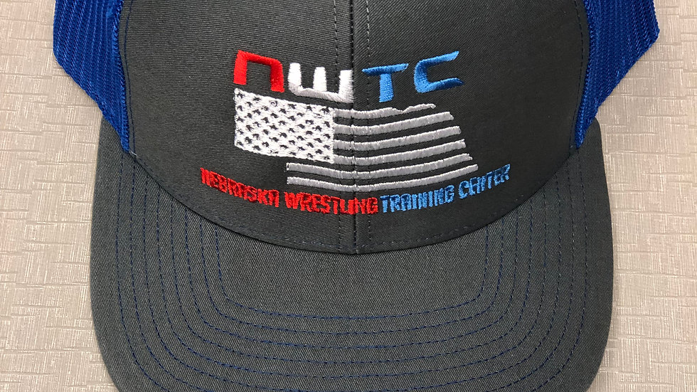 NWTC Trucker Hat (Royal Blue Mesh)