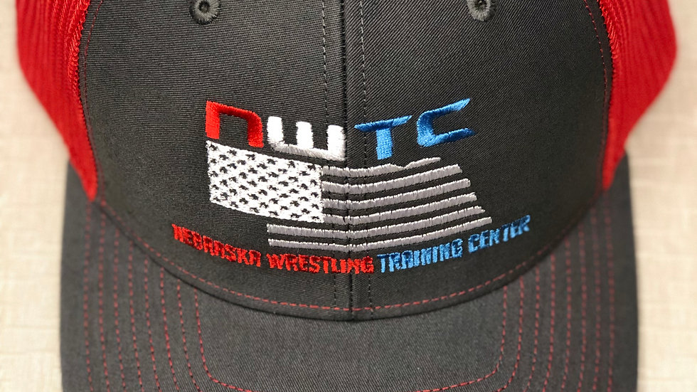 NWTC Trucker Hat (Red Mesh)